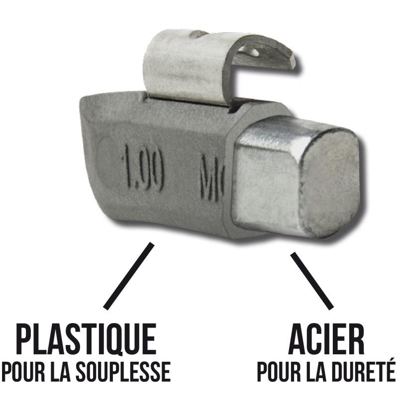 Plasteel Wheel Weight